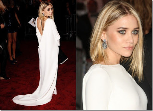ashley olsen hairstyle. Ashley Olsen in her own line