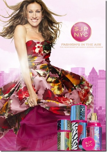 Sarah Jessica Parker launches new fragrance SJP NYC