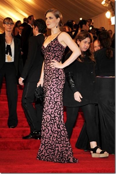 Amy Adams an der MET Gala