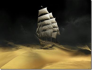 Navegando en el desierto