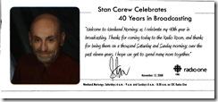 Stan Carew One