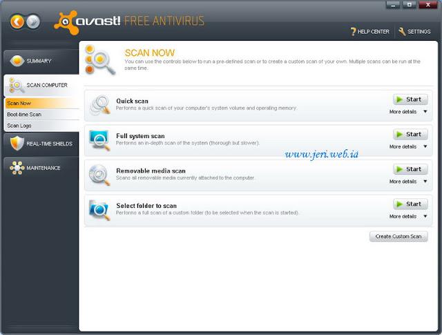 Avast Free Antivirus 5.0.418