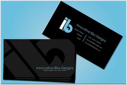 Diseños creativos de tarjetas personales