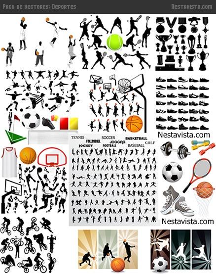 Pack de vectores de deportes