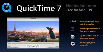 QuickTime 7.6 (Standalone player)