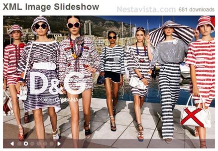 xml image slideshow