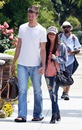 Ashley Tisdale walking to her home with her boyfriend Scott Speer wearing a pair of ripped blue jeans.<br />Los Angeles, California, USA - 01.06.09<br />Mandatory credit: WENN.com