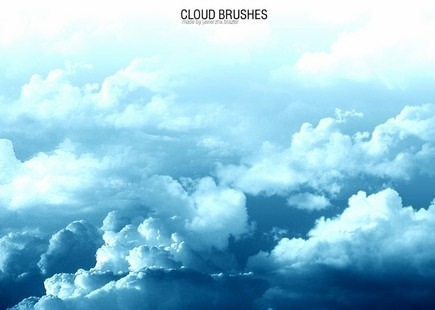 nubes-brushes