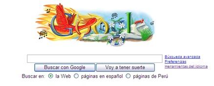 Igor Stravinsky Google Logo