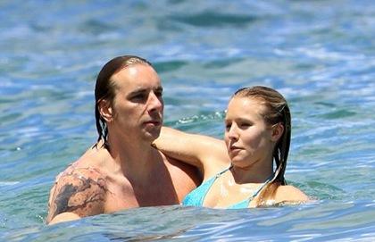 Kristen Bell y su novio