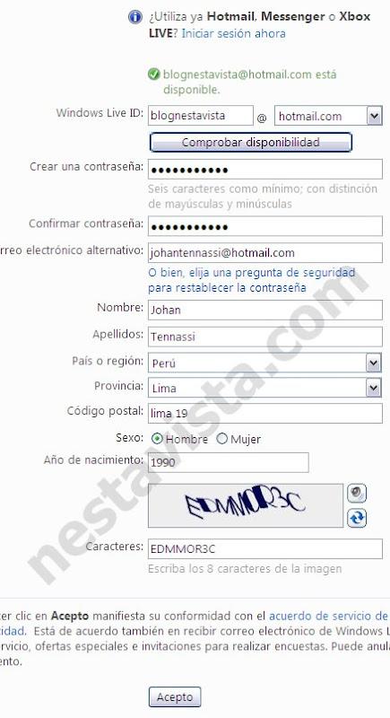 abrir correo hotmail 2