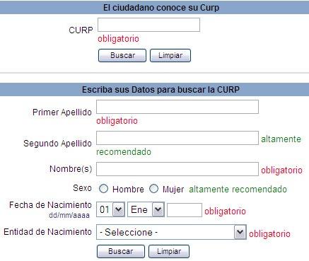 Descargar CURP