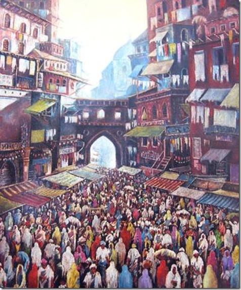 Calle de Jaipur-figura
