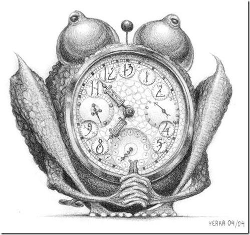 Amphibian clock