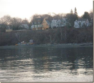 Harbor side of island