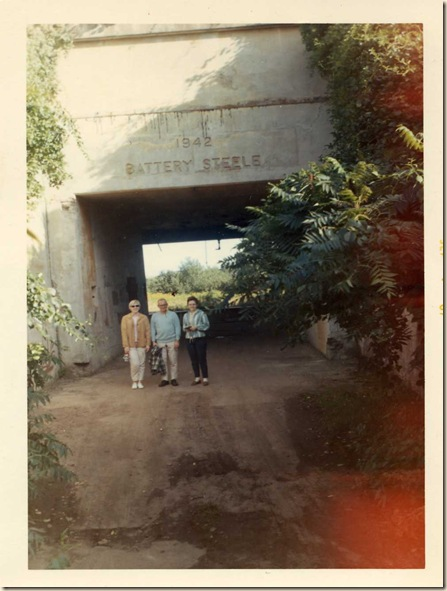 Entrance to Battery Steele