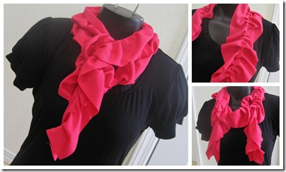 Single Ruffle Collage