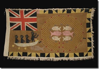 asafo flag akra small