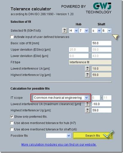 Geometric Dimensioning  and Tolerance Calculator