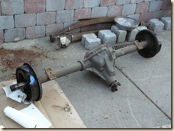 Original Dana 60 Axle from the truck