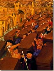 Índice de biografías - Fernando Botero - El desfile