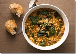 mare_barley_stew_with_leeks_mushrooms_and_greens-Bonappetit