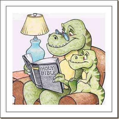 Dinosaurios Biblia Ateismo