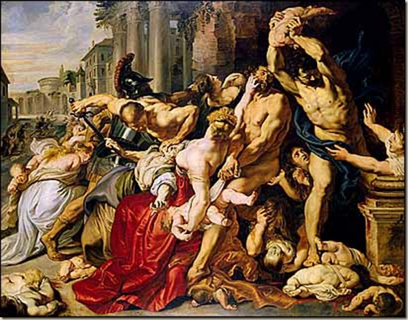 Massacre of the Innocents Peter Paul Rubens