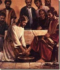 JESÚS LAVA LOS PIES