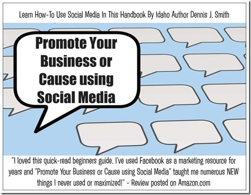 Postcard - Promote Your Business or Cause using Social Media