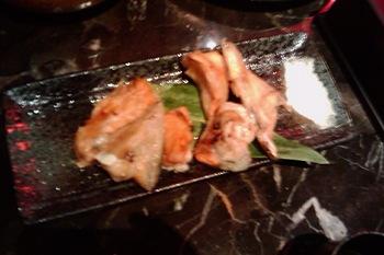 台中燒酒雞 魚下巴