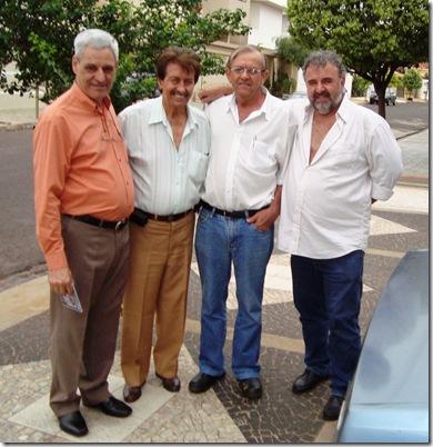 Cãndido Carneiro, Zeca, Tião Camargo e Jotha Camargo