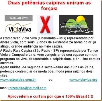 Viola Viva X Raiz Caipira