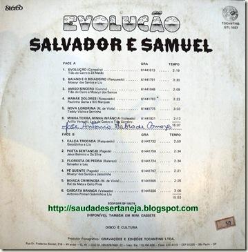 Salvador e Samuel (1979) ContraCapaca