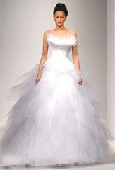 Vestidos de noiva para casamentos N7 2 EF 1027