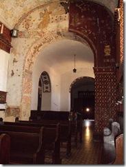 Interior Iglesia de Santa Bárbara