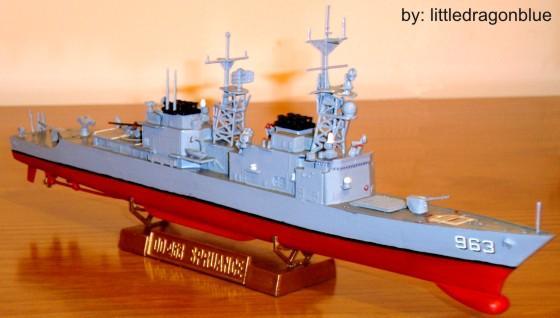 Contratorpedeiro - USS Spruance (DD-963)