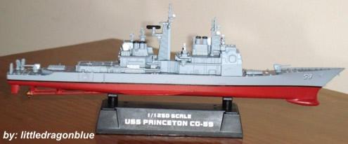 Cruzador - USS Princeton CG-59