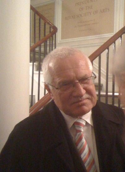President Vaclav Klaus: Climate Control or Freedom?