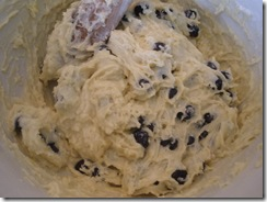 Blueberry Bread Batter