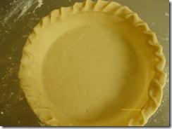 Shoofly crust