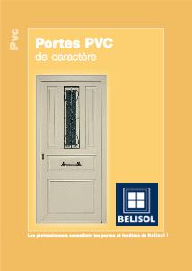 Porte PVC de caractère