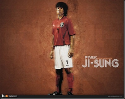 Park-Ji-Sung-South-Korea-Wallpaper