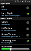 Screenshot of Trax Music Player