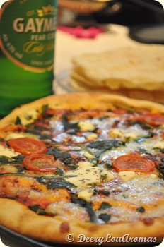 Spinach & Ricotta Pizza