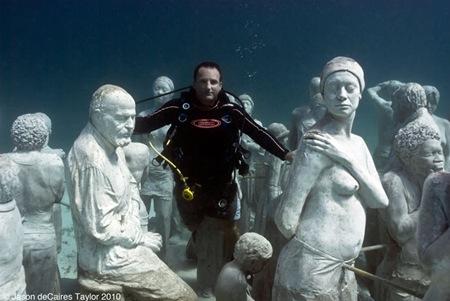 Escultura sub Jason de Caires