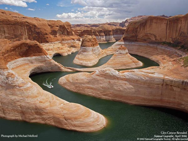 National Geographic - April 2006 - Glen Canyon Revealed - Photograph by Michael Melford