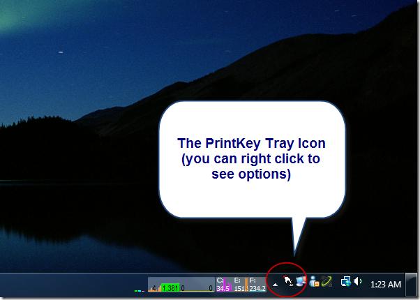 printkey