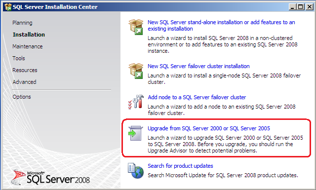 Luis rochas blog upgrading to sql server 2008 express and after the installation is completed close the sql server installation center if it is still open then run again the same installer that you downloaded on sciox Gallery