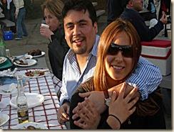 Con Jorgelina Venturi